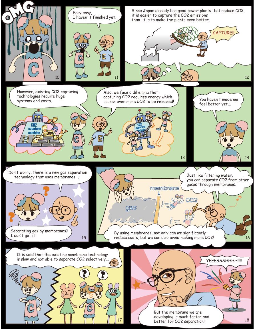 CO2-chan's dream MANGA page 2